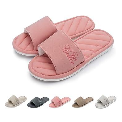 782170595 Caramella Bubble Memory Foam Open Toe Slippers for Women | Memory Foam  Slides | Couples Open