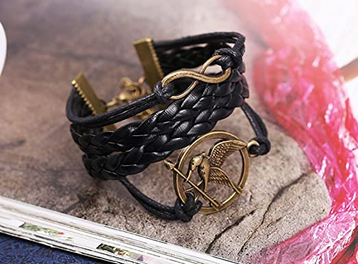 Amazon Com The Bird Stand Arrow In The Circle Shape With Lucky Figure Eight Wrap Adjustable Leather Bracelet Clothing Select the department you want to search in. amazon com