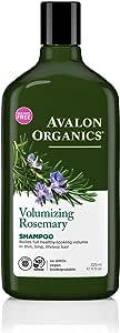 Avalon Organics Shampoo Volumizing Rosemary, 11 oz