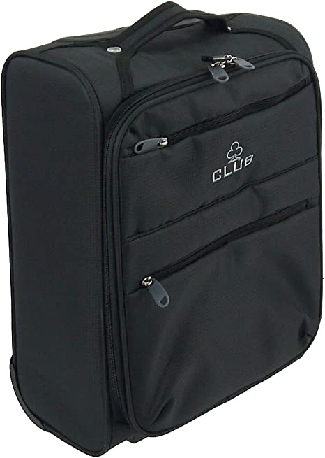 Wizz Air Cabin Case Hand Luggage Trolley Bag Lightweight Fits In 42x32x20cm Black Amazon Co Uk Luggage
