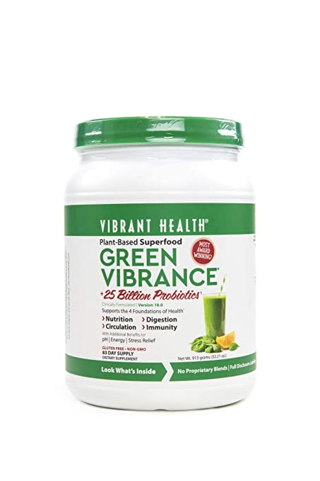 Vibrant Health Green Vibrance, 83 servings, Version 18.0