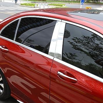4/poliert Aluminium B C Fenster S/äule Post Trim Kit Cover Trim Auto Zubeh/ör
