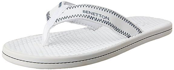 United Colors of Benetton Men's Flip-Flops and House Slippers Flip-Flops & House Slippers at amazon