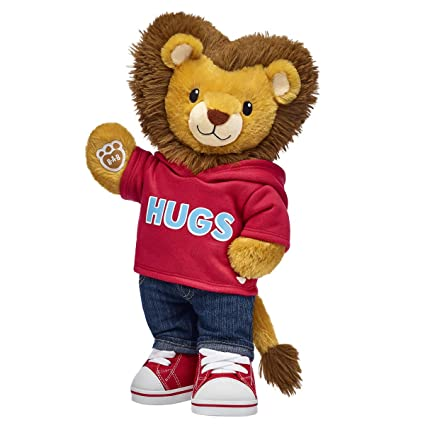 c06e125f333 Image Unavailable. Image not available for. Color  Build A Bear Workshop  Lovable Lion Stuffed Animal Set