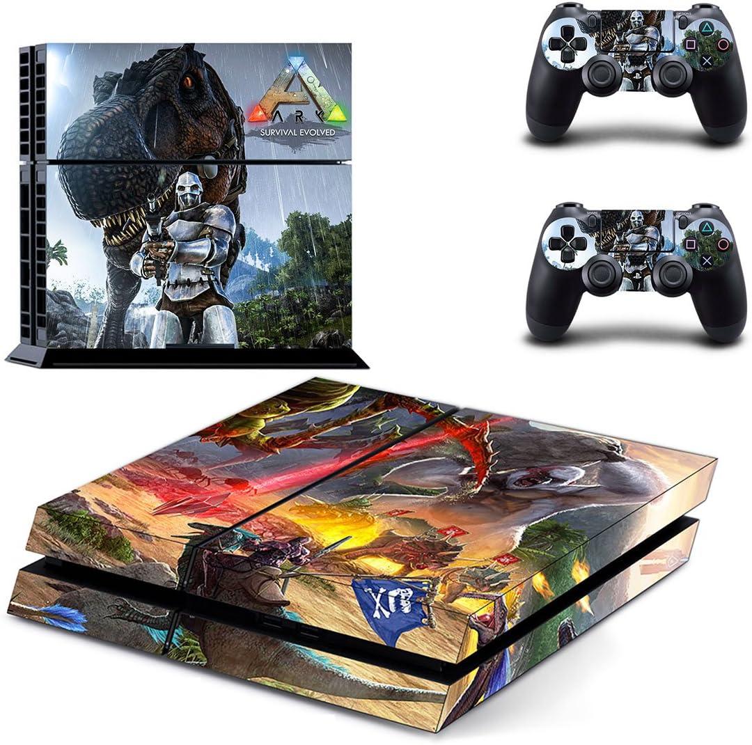 thtb Playstation 4 + 2 Controller Design Adhesivo protector Set ...