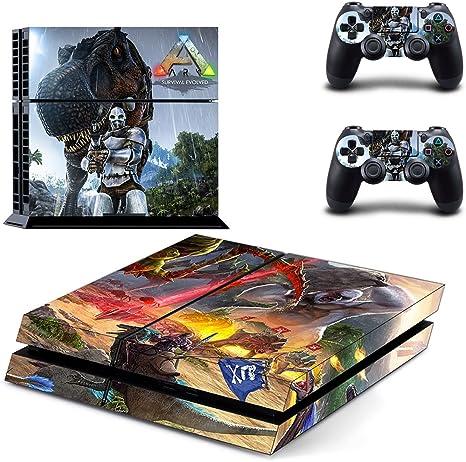 thtb Playstation 4 + 2 Controller Design Adhesivo protector Set – Ark: Survival Evolved/PS4: Amazon.es: Videojuegos