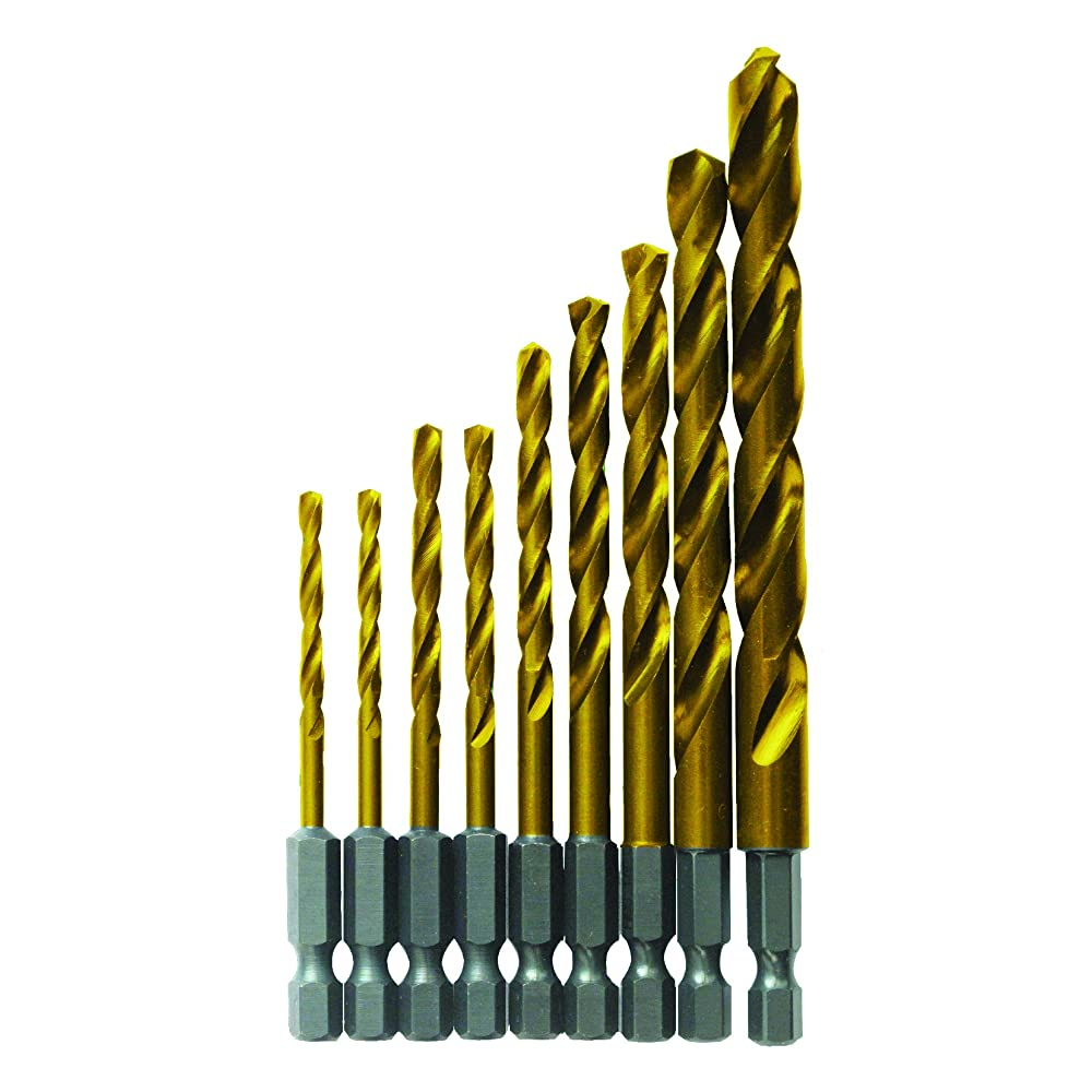 Bosch TI9IM 9 Pc. Impact Tough Titanium Drill Bit Set Review