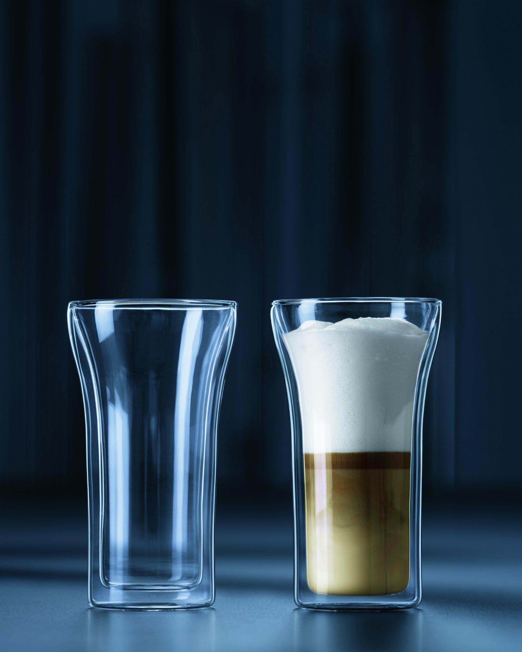 Bodum Assam Double Wall Glass, Set of 2, 0.4 l, 13.5 oz., Clear by Bodum (Image #2)