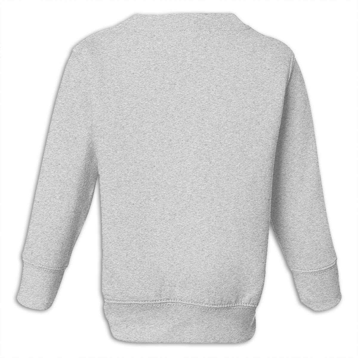 Yuliang Sorry Im Late I Didnt Want to Come Children Personality Sweater Gray