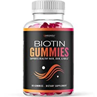 Havasu Nutrition High Potency Biotin Gummies - Natural Hair, Skin, Nail & Metabolism...