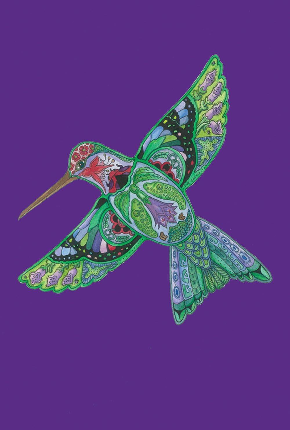 Toland Home Garden 1110046 Animal Spirits-Hummingbird 12.5 x 18 Inch Decorative, Garden Flag-12.5