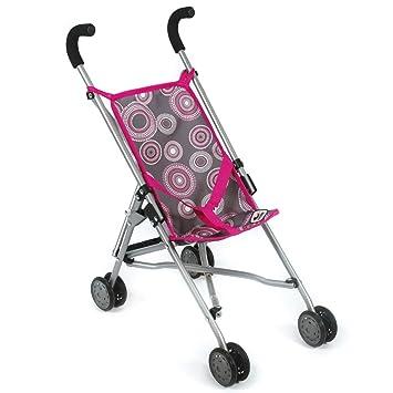 Babypuppen & Zubehör Puppenwagen Bayer Chic 2000 Puppen Mini-Buggy pink TOP