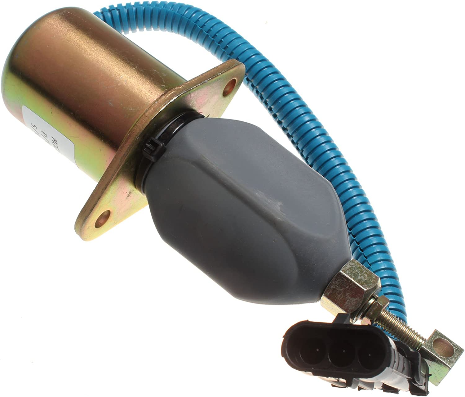 Holdwell Fuel Stop Solenoid Shutoff Solenoid SA-4026-12 compatible with Ford Cummins Truck 12Vdc