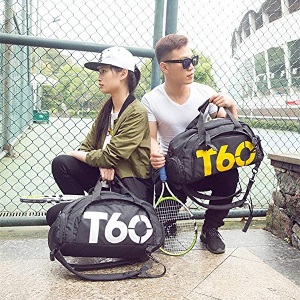Kangcheng Small Gym Bag Bolso de Entrenamiento Deportivo Holdall con Compartimento para Zapatos para Mujeres y Hombres Cualquier Actividad Deportiva al Aire Libre en Interiores