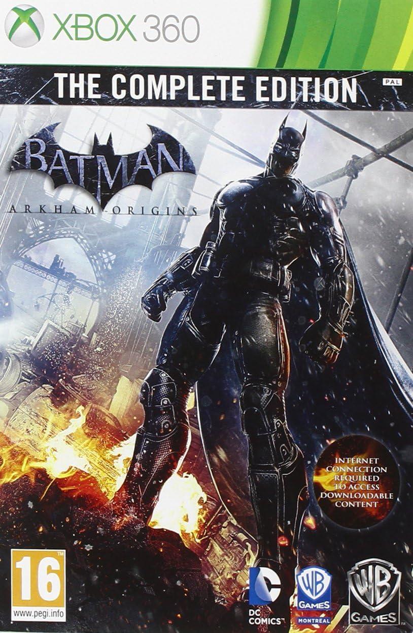 Warner Bros Batman: Arkham Origins, Complete Edition Xbox 360 Inglés vídeo - Juego (Complete Edition, Xbox 360, Acción / Aventura, RP (Clasificación pendiente ...
