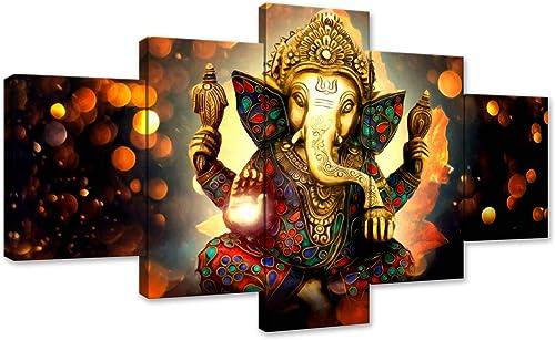 Ganesha Canvas Painting Wall Art