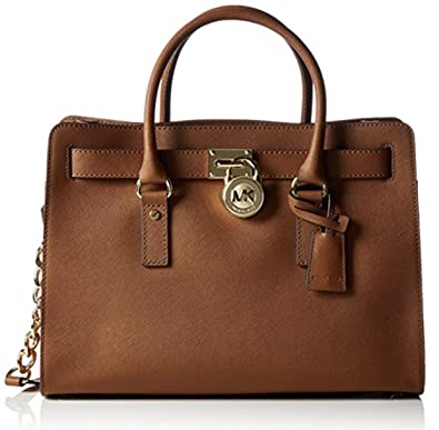 7362e8b428d25 MICHAEL Michael Kors Hamilton Large East West Satchel Lugggage  Handbags   Amazon.com