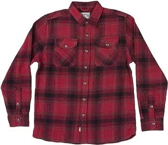 Camisa de Franela de Hierro y Resina Rockland, Large, Sangre de Toro: Amazon.es: Deportes y aire libre