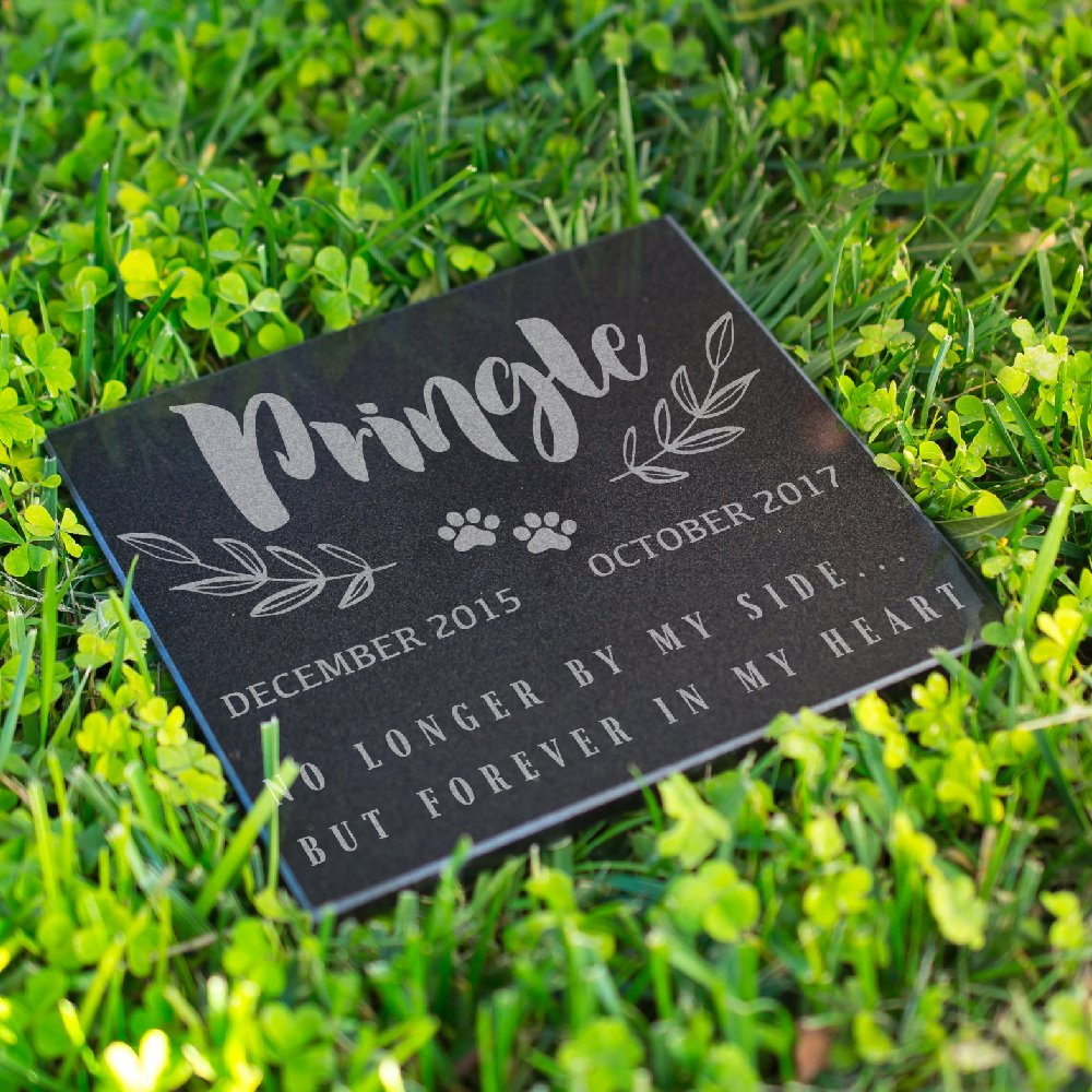Personalized Pet Grave Marker for Cats or Dogs Free Customization Memorial Headstone DSG#5
