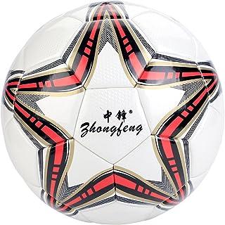 Ballon de Foot d'entraînement, élastique sans Fuite d'air Taille 5 Ballon de Football pour Les débutants pour Adolescents élastique sans Fuite d'air Taille 5 Ballon de Football pour Les débutants pour Adolescents Alomejor
