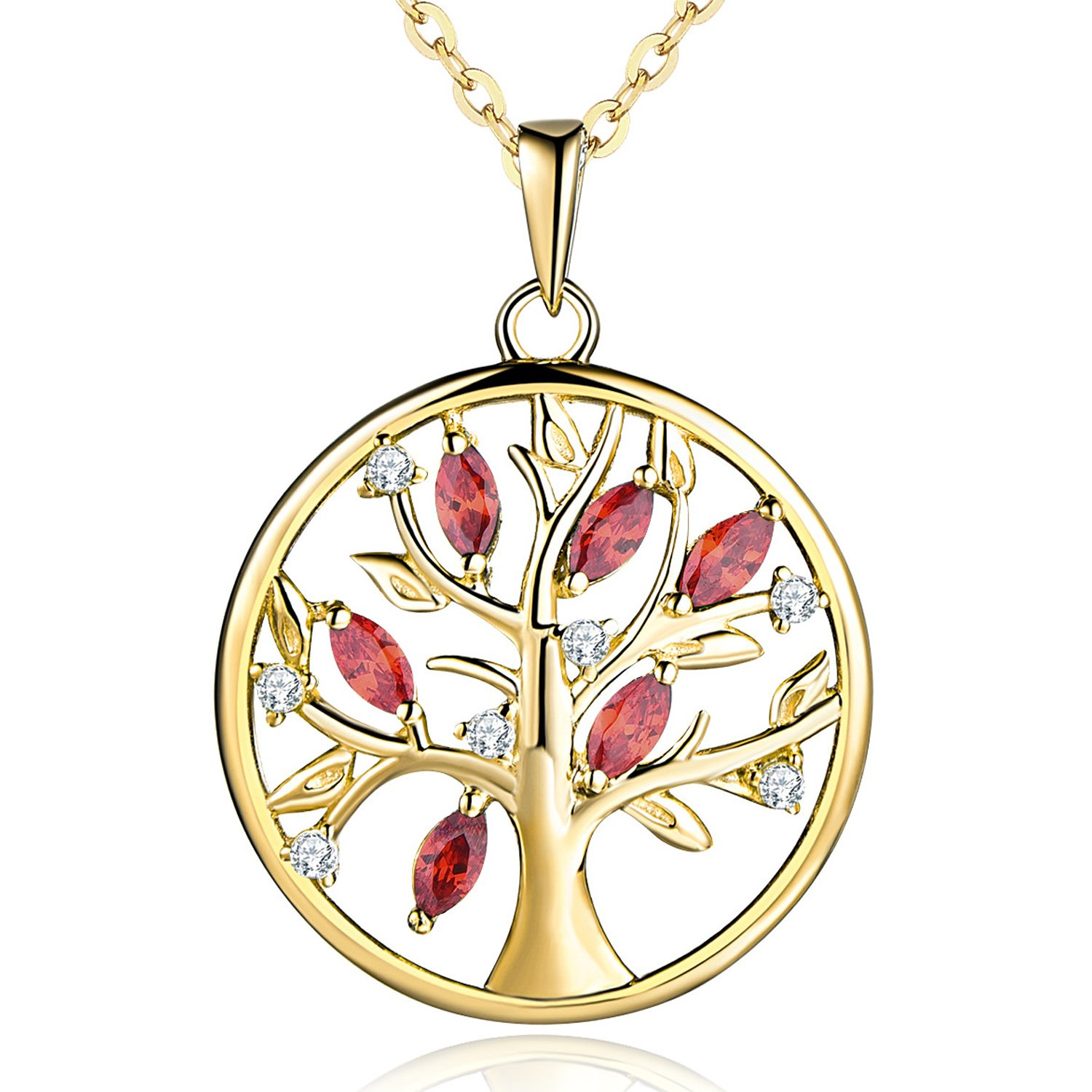 pendant product tree tyche plated necklace with family yellow nyc silver