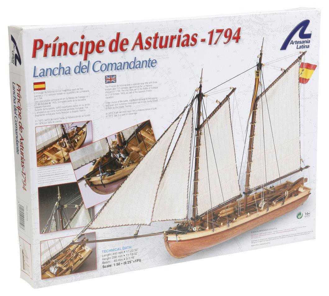 Artesania Latina 22150 - 1/50 LangStiefel der Principe de Asturias, Wasserfahrzeuge