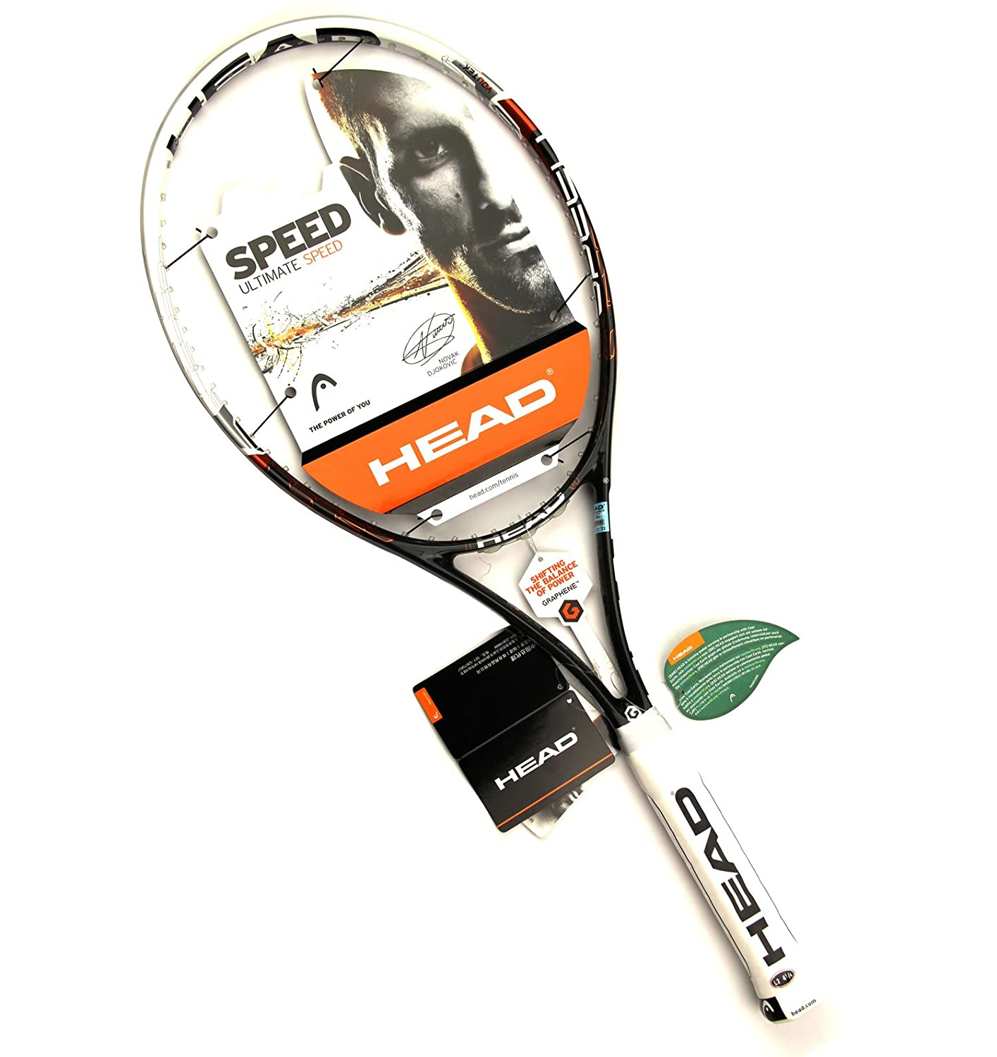 Amazon.com: Head 2013 YouTek Graphene Speed S – Raqueta de ...