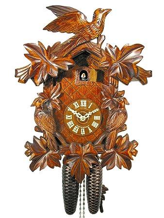 Amazon.de: Schwarzwälder Kuckucksuhr/Schwarzwald-Uhr (original ...