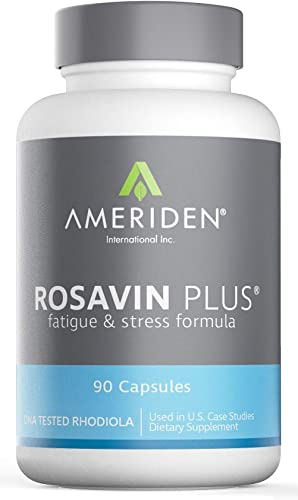 Ameriden International Rosavin Plus 90 Capsules