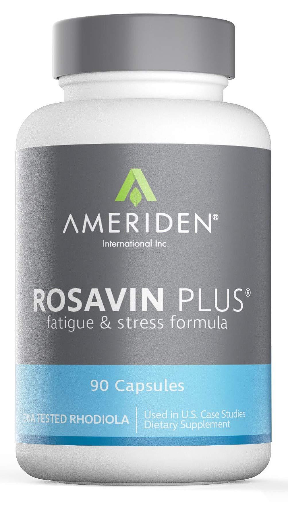 Rosavin Plus® with Electrolytes- Siberian Rhodiola rosea 90 V-capsules 150mg