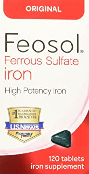 Feosol Iron Supplement