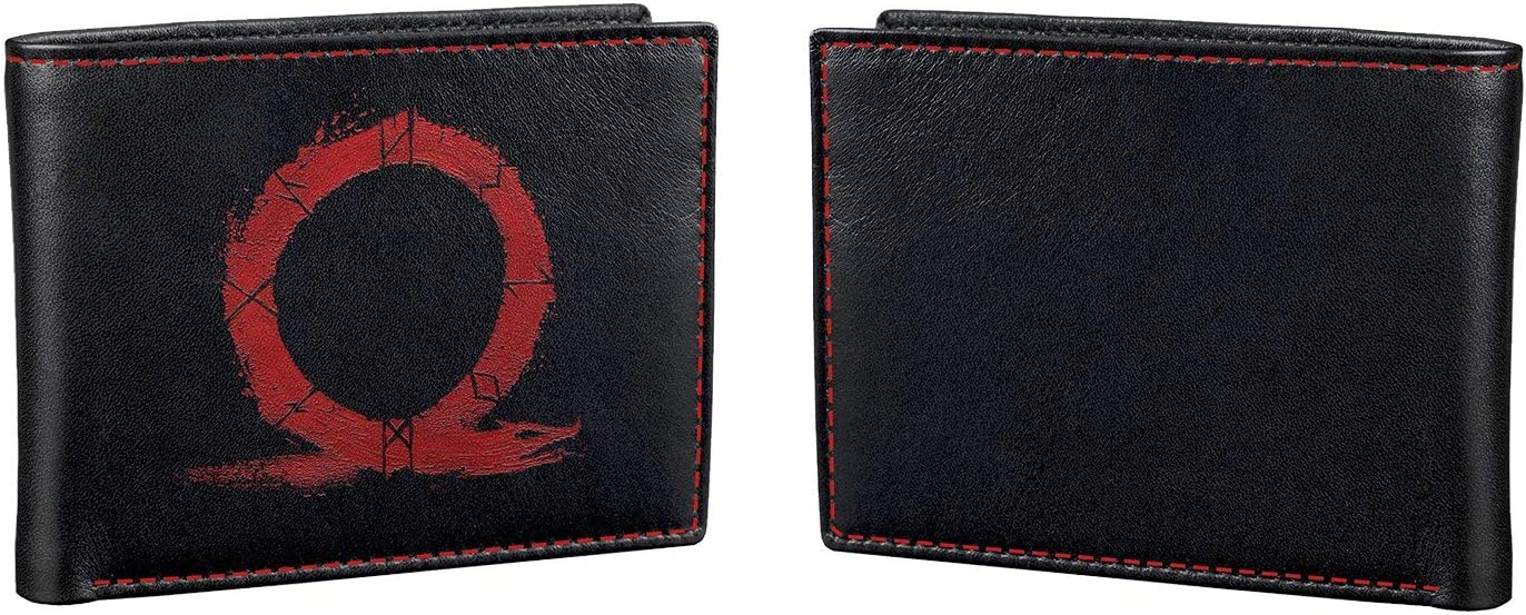 Official God of war A New Beginning Logo Black ID /& Card Bi-Fold Wallet*SECOND*