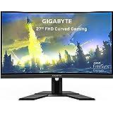 "GIGABYTE G27FC 27"" 165Hz 1080P Curved Gaming Monitor, 1920 x 1080 VA 1500R Display, 1ms (MPRT) Response Time, 90% DCI-P3…"