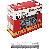 Fischer 542436 - Wandpluggen (5 x 25 mm, 100 Stuks)