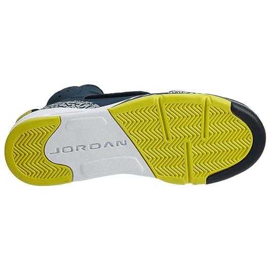 half off ef359 e7b3e Amazon.com   Nike Kids  Jordan Son of Mars Armory Navy White 512246-405  (SIZE  4.5Y)   Basketball
