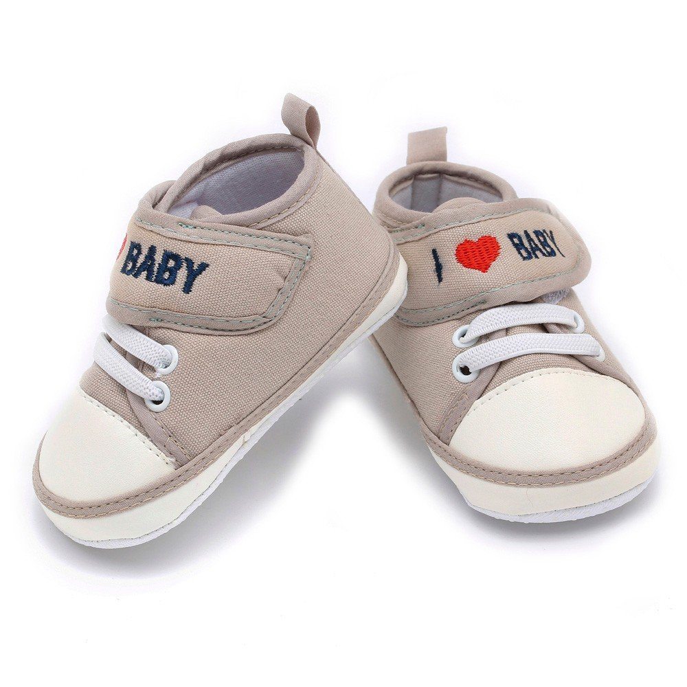 Newborn/ Baby/ Toddler Boys Girls/ Letter Heart Anti-Slip Soft Sole/ Casual/ Shoes