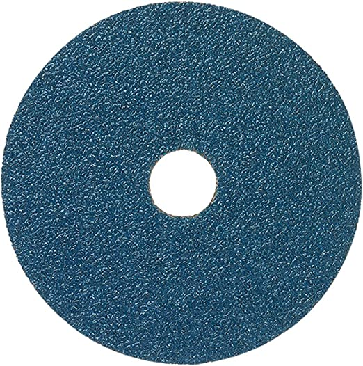 """50 Pack 5/"""" Zirconia Resin Fiber Disc 36 Grit 5 inch Grinding /& Sanding Discs"""