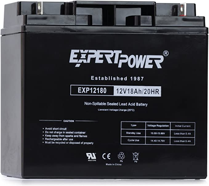 ExpertPower EXP12180 12V18AH - The Runner-up