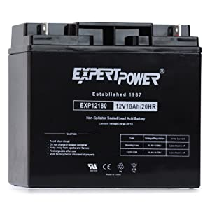 ExpertPower EXP12180 Lead_Acid_Battery