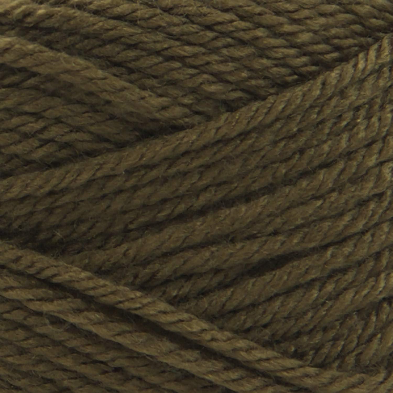 Black//White LION BRAND YARN COMPANY Yarn Basic Stitch Whit