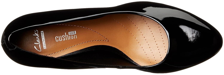 CLARKS Women's Brenna Maple B(M) Dress Pump B0195PJ1MI 8.5 B(M) Maple US|Black Patent a5e12c