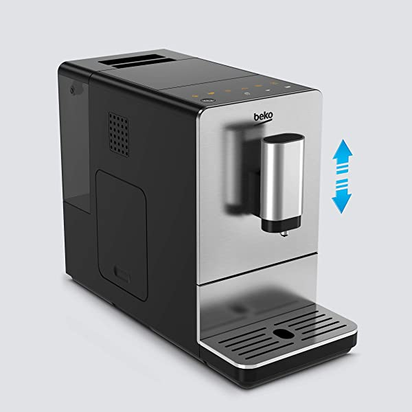 Beko CEG5301X - Cafetera (Independiente, Máquina espresso, 1 ...