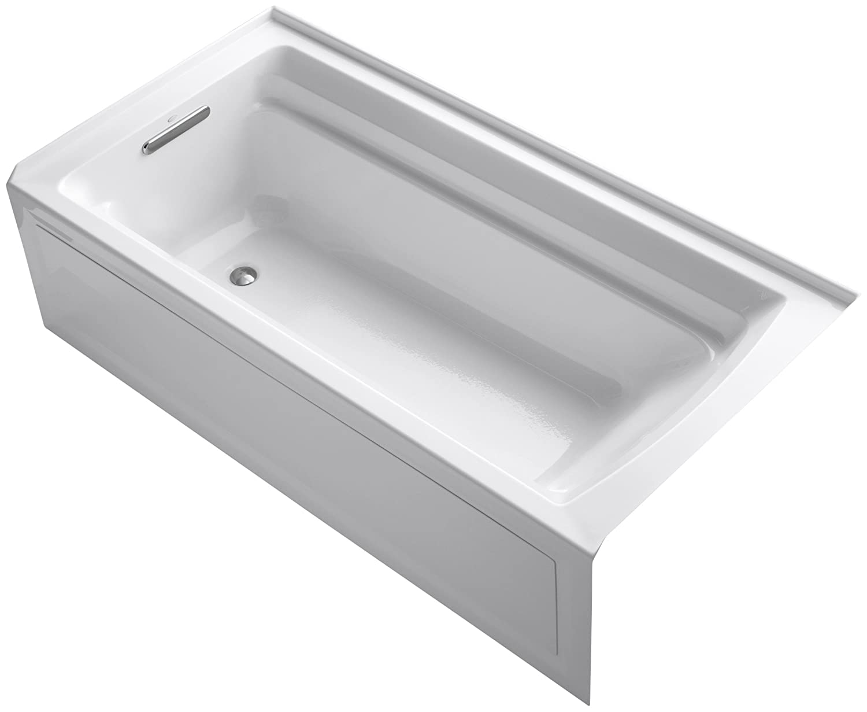Amazon.com: KOHLER K 1125 LA 0 Archer 6 Foot Bath, White: Home Improvement