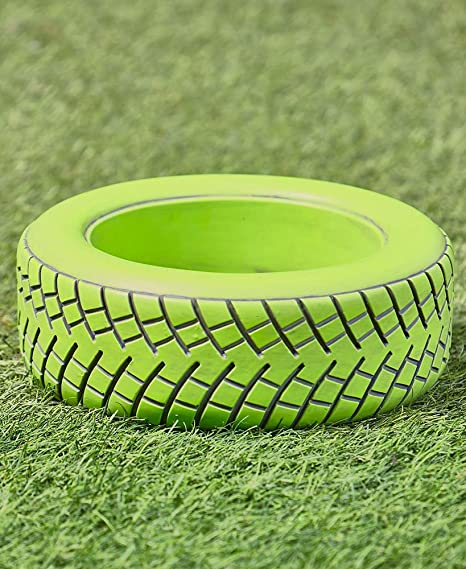 Amazon.com: The Lakeside Collection Tire Planters Green: Garden U0026 Outdoor