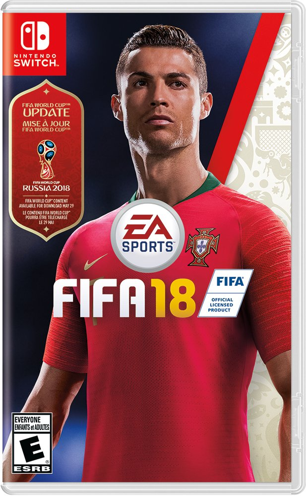FIFA 18 Standard Edition - Nintendo Switch