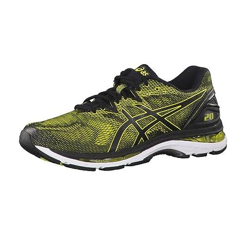 Motel El diseño Prefacio  Buy ASICS Gel-Nimbus 20 Mens Running Trainers T800N Sneakers Shoes (UK 6.5  US 7.5 EU 40.5, Sulphur Spring Black White 8990) at Amazon.in