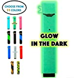 JUUL Case - Original StickerSonic Silicone Case for JUUL - Not Interfere with JUUL Skin - JUUL Cover Sleeve Grip (Glow in The Dark)