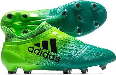 Chaussures football adidas X 16+ Purechaos FG Vert Prix