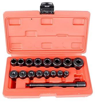 Kit de herramienta de alineación del embrague ALINEACIÓN Universal 17 piezas para todos los coches y