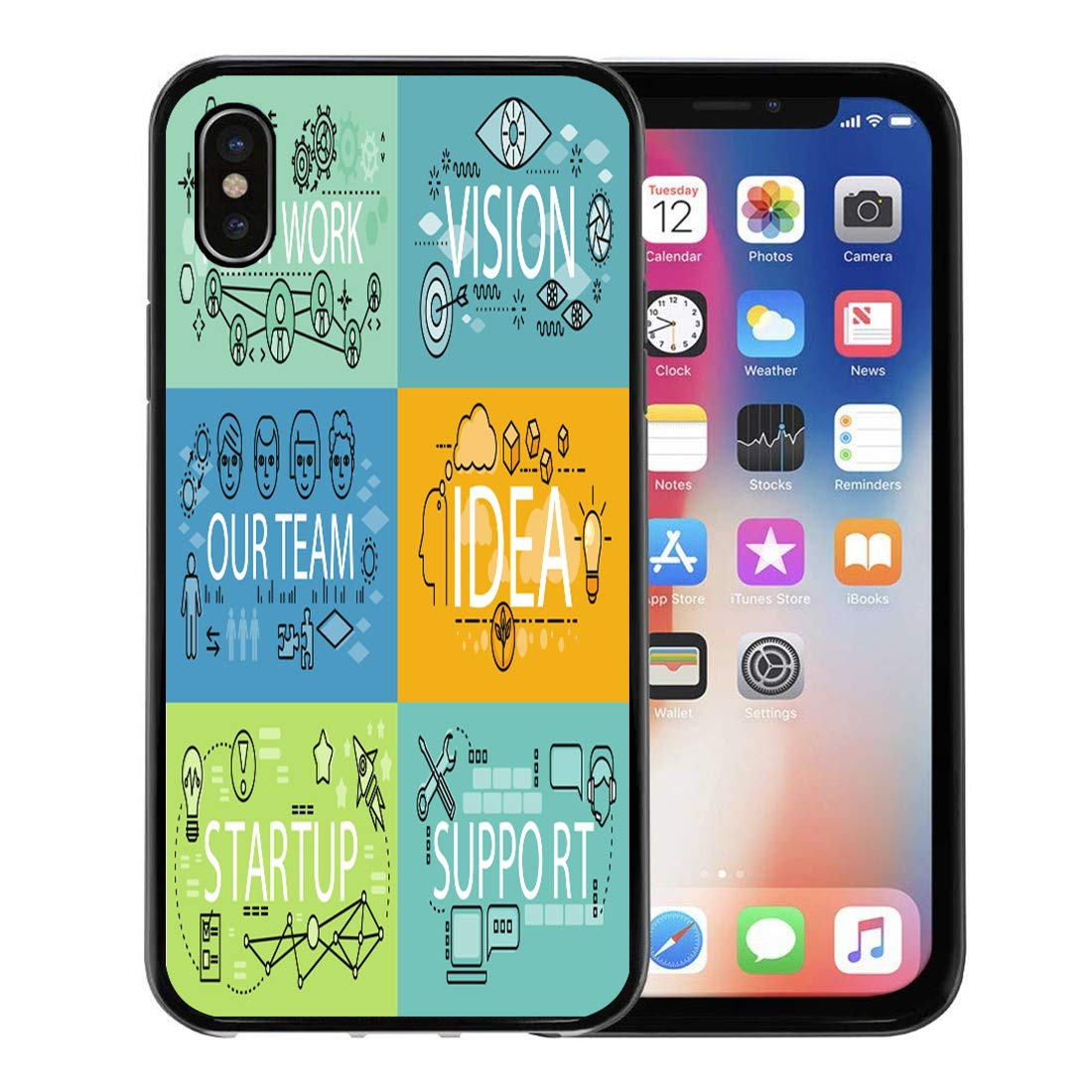 new concept f373a 91180 Amazon.com: Emvency Phone Case for Apple iPhone Xs Case/iPhone X ...